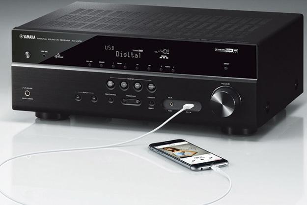 YAMAHA RX-V479 - nowy streamer muzyczny - INFOAUDIO PL