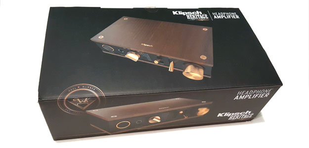 KLIPSCH HERITAGE: HEADPHONE AMPLIFIER - odpaking