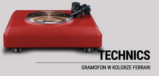 GRAMOFON FERRARI RED TECHNICS