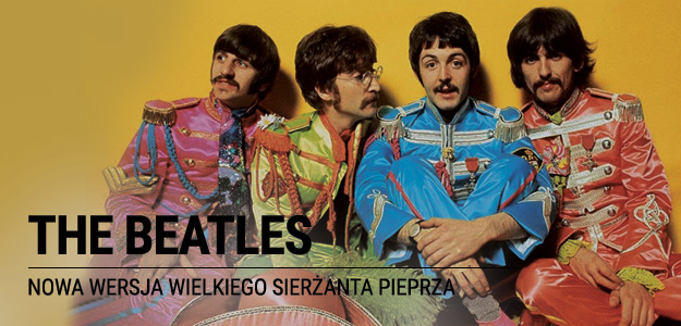 NOWY ALBUM THE BEATLES