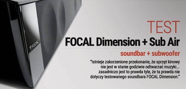 FOCAL DIMENSION + SUB AIR