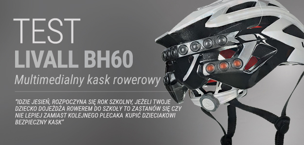 LIVALL BH60 - multimedialny kask rowerowy