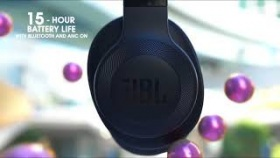 JBL E-Series Wireless Headphones | Tune Out The World. Get Into Your Music