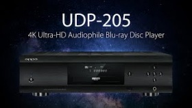 UDP-205 4K Ultra-HD Audiophile Blu-ray Disc Player - OPPO Digital
