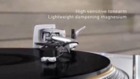 Technics SL 1200GAE  50th Anniversary Limited Edition Direct Drive Turntable System Concept Movie