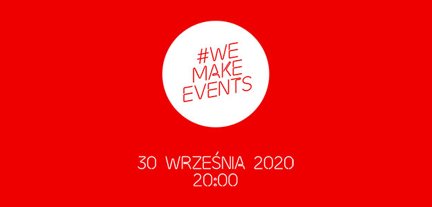 #WeMakeEvents - RED ALERT - Stand as One